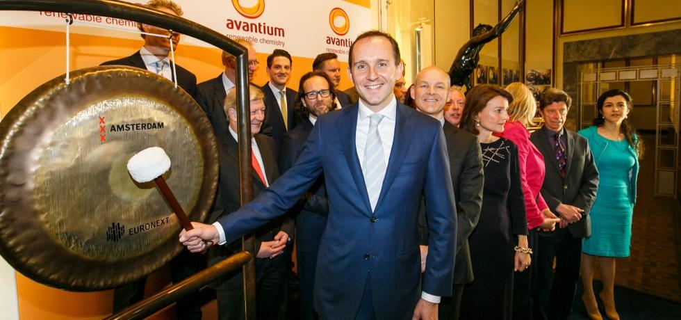 Tom van Aken, CEO Avantium