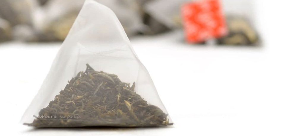 pyramid tea bags microplastics