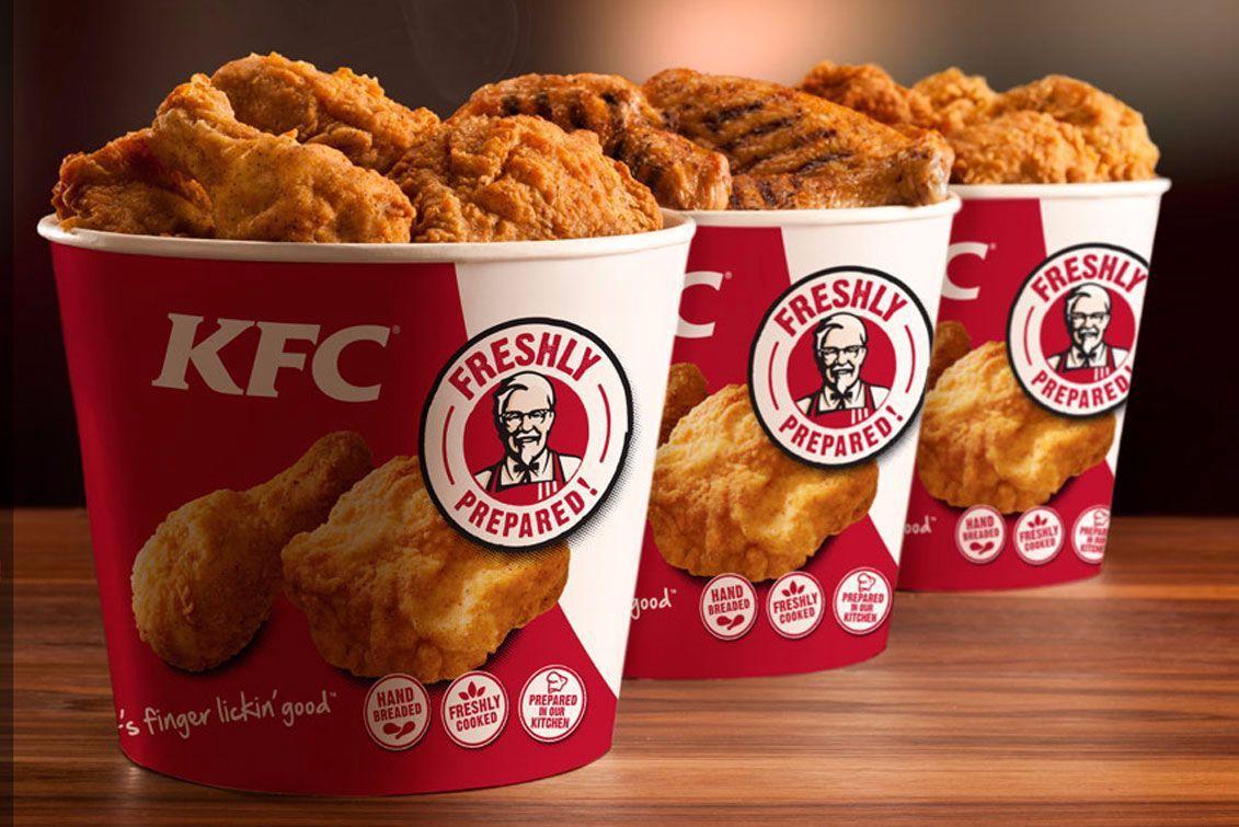 KFC bamboo buckets