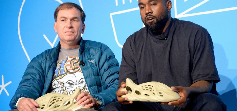 Kanye West shoes algae Bioplastics