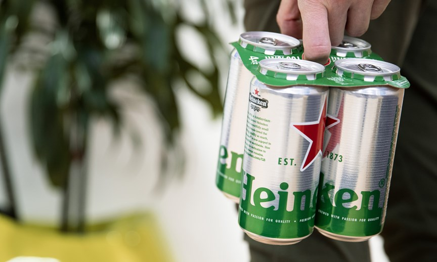 heineken rings wrap