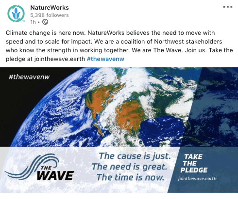 NatureWorks the Wave