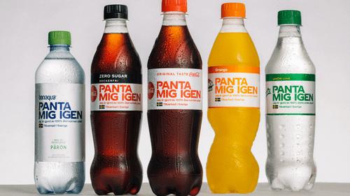 coca cola recycling labels