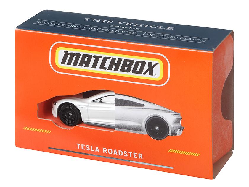 matchbox tesla roadster carbon neutral