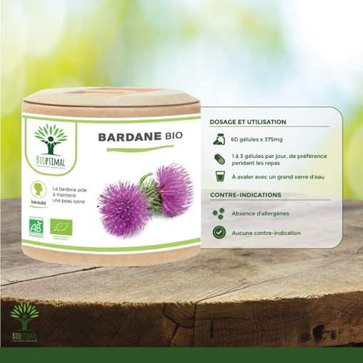 Utilisation Bardane Bio