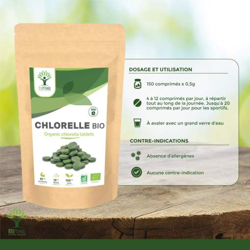 Utilisation chlorelle