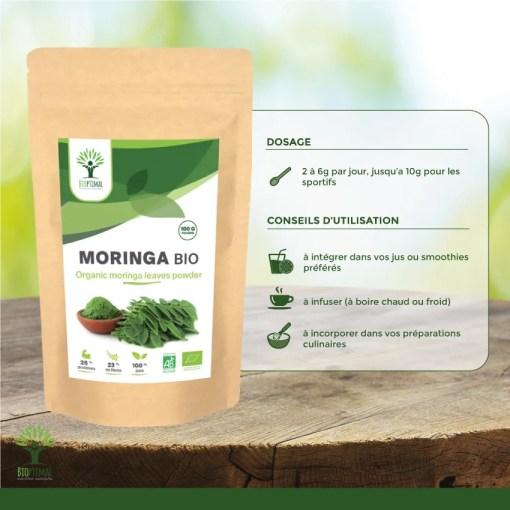 Utilisation Moringa