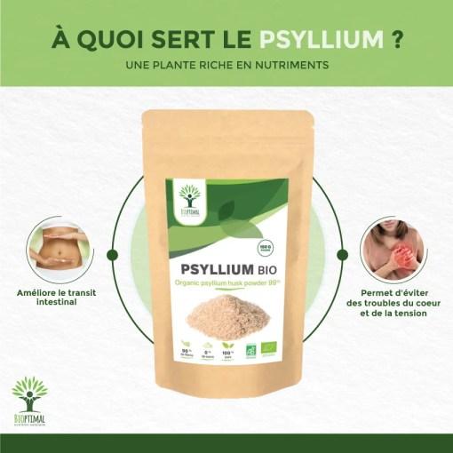 Bienfaits Psyllium
