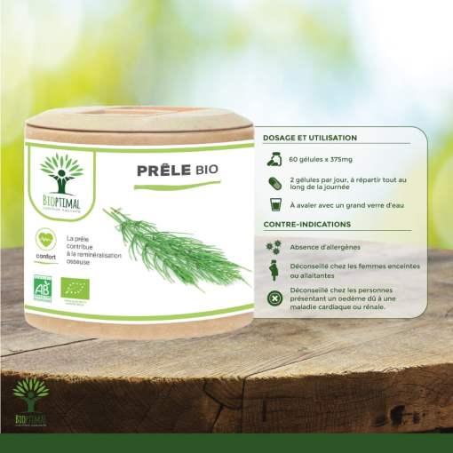 Utilisation Prêle Bio