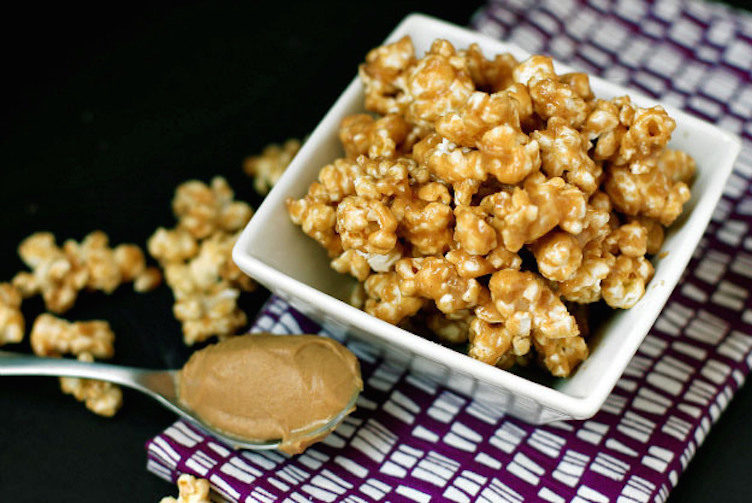 2.244 Réussir son maïs éclaté (popcorn) - recettes peanut butter