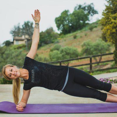Side plank-Elbow