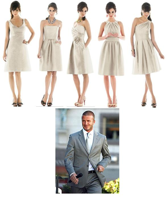 Do These Dresses Match This Suit Weddingbee