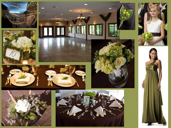 Perfect Day Wedding Planners Olive Green Color Palette