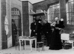 Entrevue de Dreyfus et de sa femme à Rennes