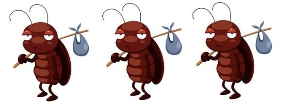 Склонность тараканов к путешествиям помогает им выживать