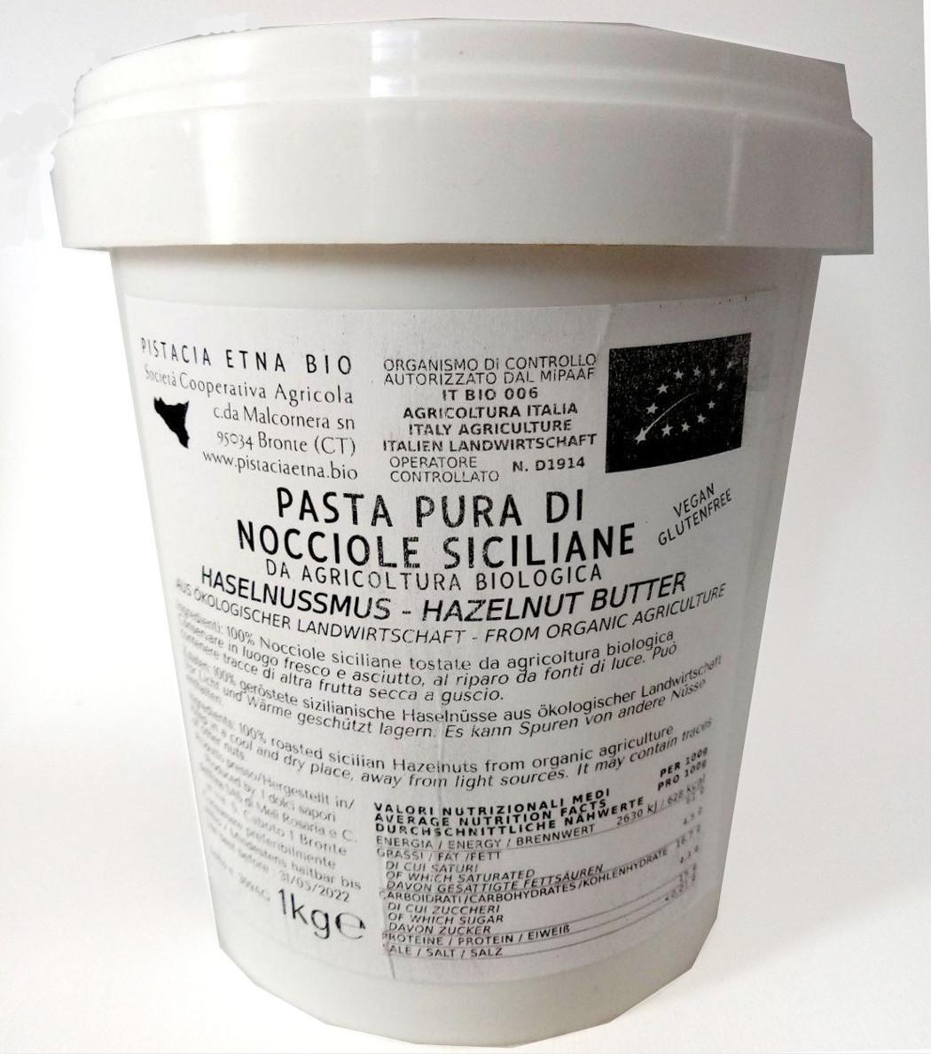 pasta di nocciole bio 1kg