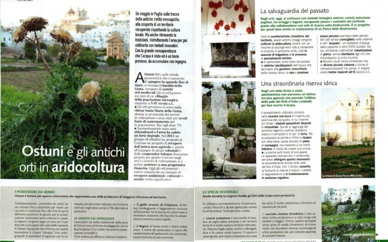 Casa in Fiore: Ostuni e gli antichi orti in aridocoltura