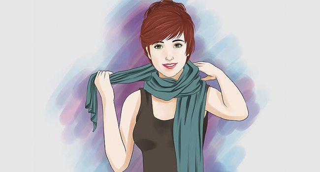 10 métodos estilosos para amarrar uma echarpe cachecol lenco 1 2