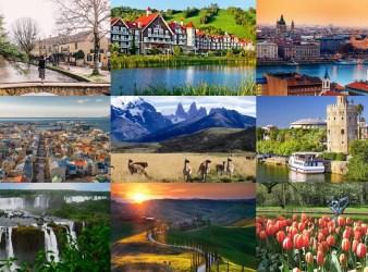 10 Melhores Lugares para Viajar na Primavera