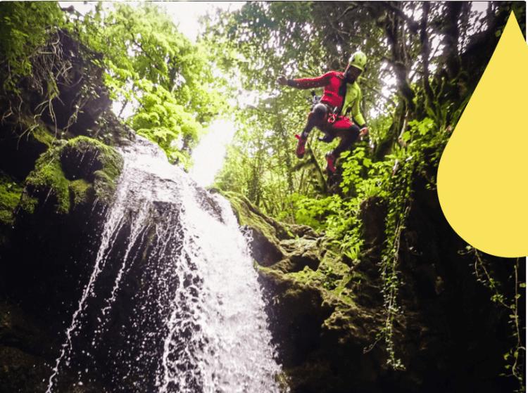 Leoncel, un voyage dans la jungle du vercors en canyoning