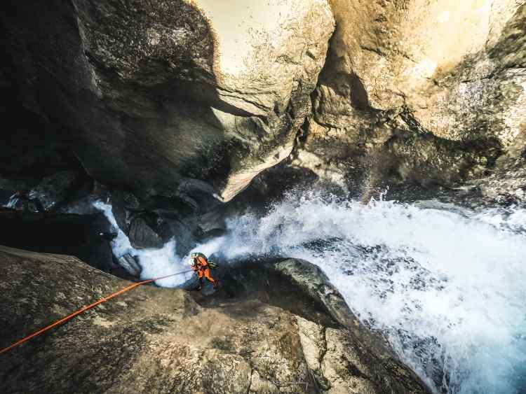 canyoning du vercors