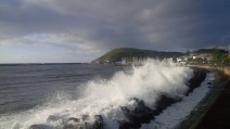 Waves in the harbour – never good news (Craig Turner)