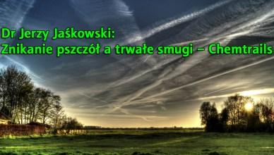Dr Jerzy Jaśkowski: Znikanie pszczół a trwałe smugi – Chemtrails