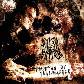 Dark Man Shadow - Victims Of Negligence - Artwork