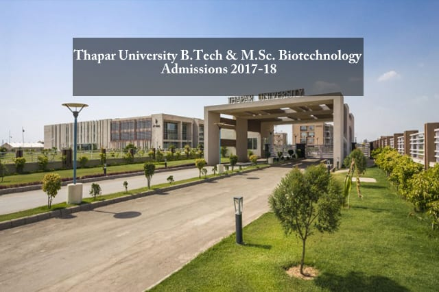 Biotechnology Admissions