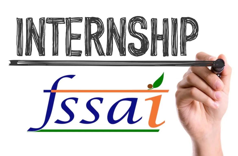 FSSAI Internship April 2020
