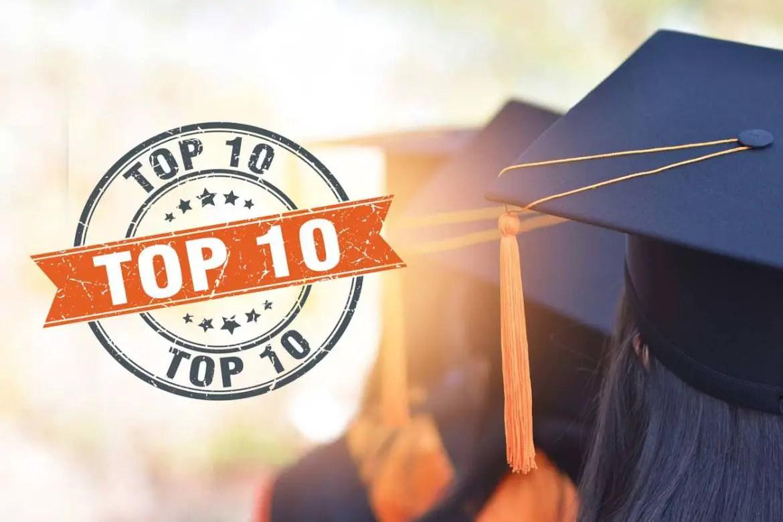 top 10 list of phd biotechnology