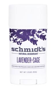 Déodorant schmidt's lavande et sauge geranium