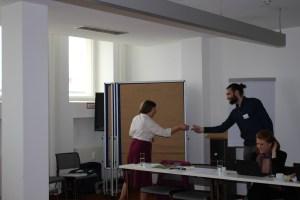 Communication workshop Pam Berry © Pauline zur Nieden