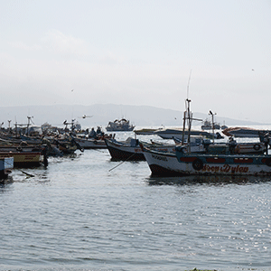 fisher boats Lima © Frederike Tirre
