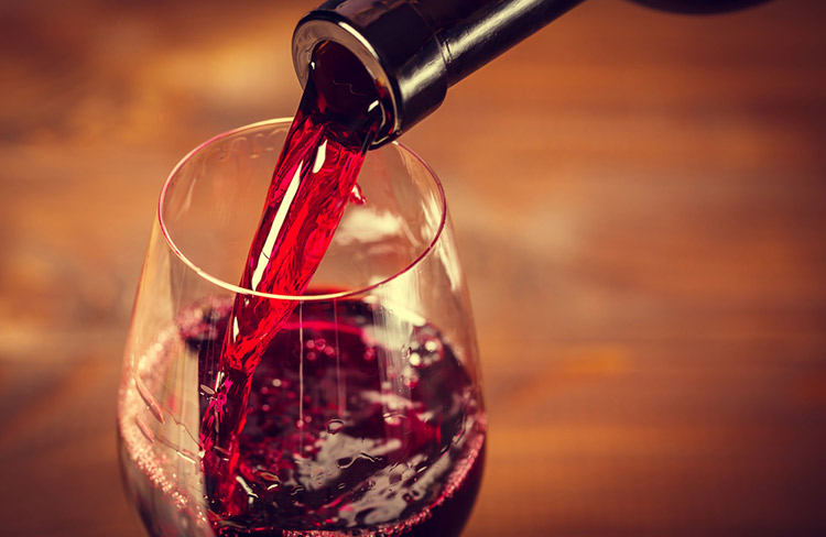 преимущества красного вина