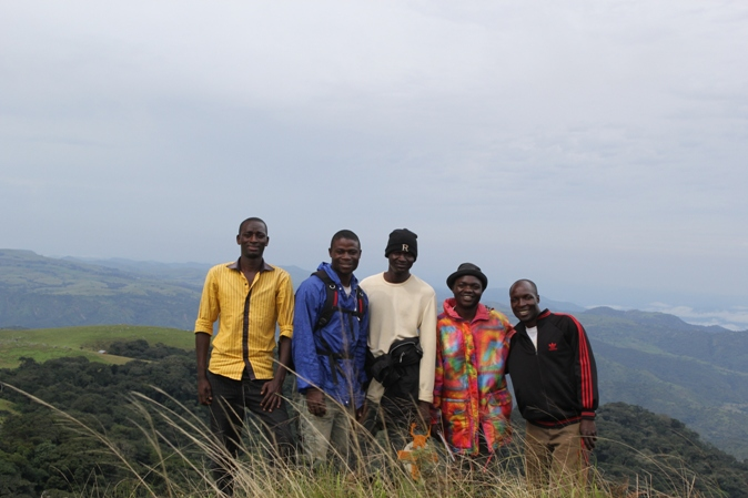 Field assistants at the Nigerian Montane Forest Project