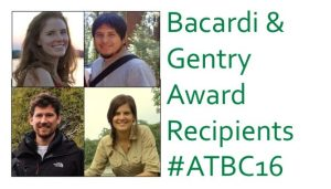 #ATBC16 Bacardi & Gentry Award Winners