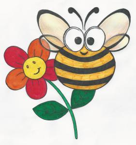 5-Bees,: Bijen, Bloemen, Biodiversiteit, Bijenlint en Biovic