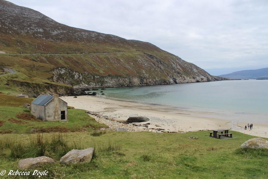 Keem Strand on Achill Island, Ireland. (Photo by Rebecca Doyle)
