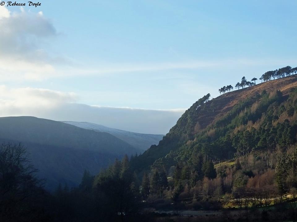 Glendaough, Co. Wicklow in Winter (Photo by Rebecca Doyle)