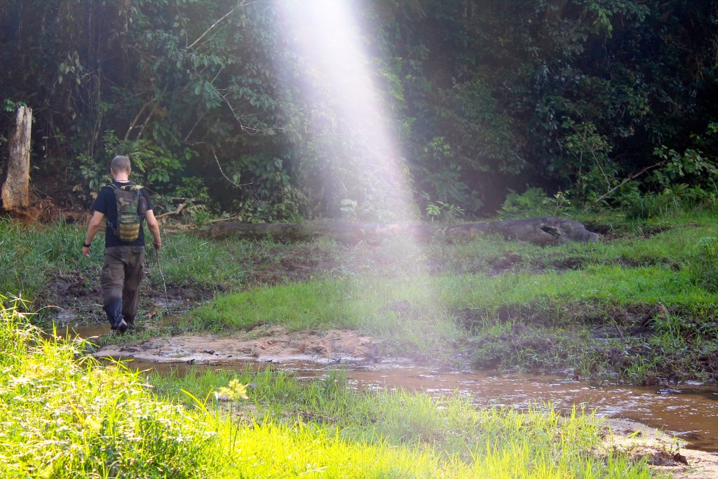 """""""Patrol day one turns out to be day one of the rainy season"""" (Photo courtesy of Sandiscovery)"""