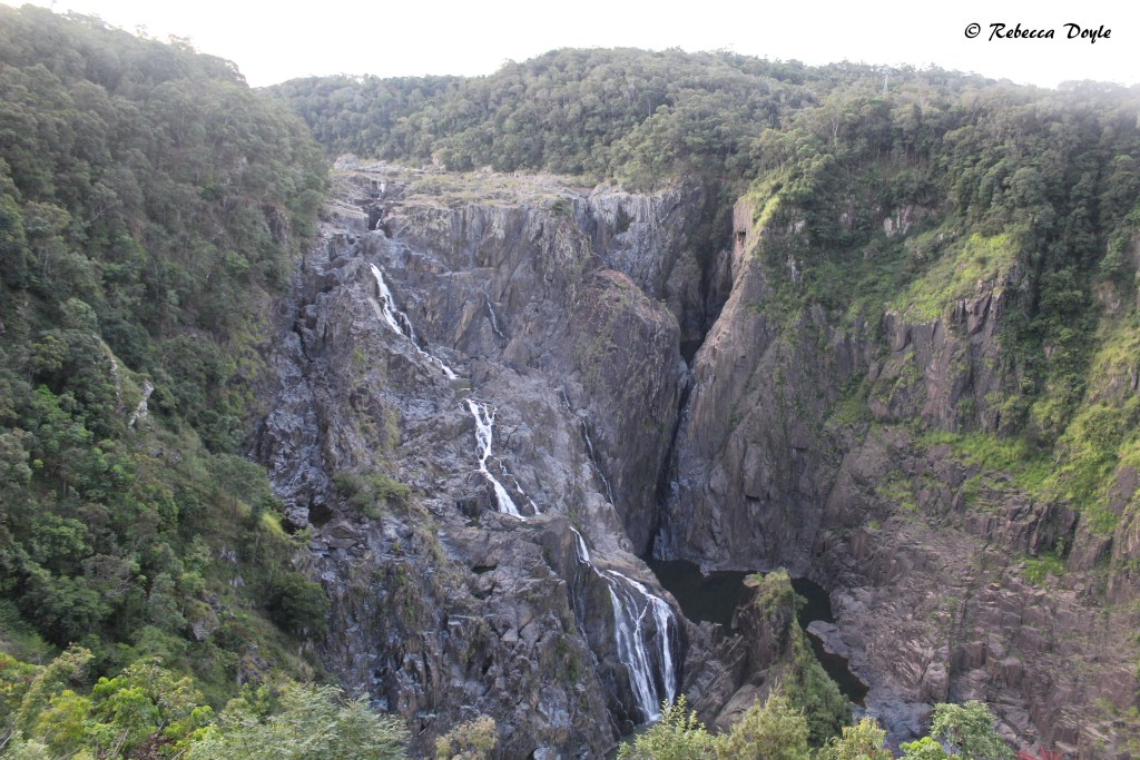 Barron Falls, an incredible sight, must be even more spectacular during the rainy season. Photo- Rebecca Doyle