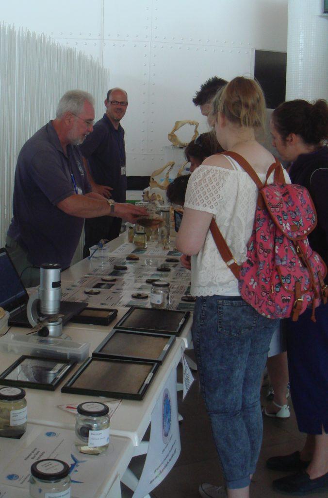 Greg Nowell and Daivd Mason at a Sharklab-Malta awareness event
