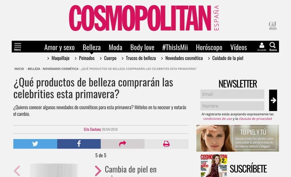 Portada Cosmopolitan