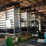 Waste water disinfection