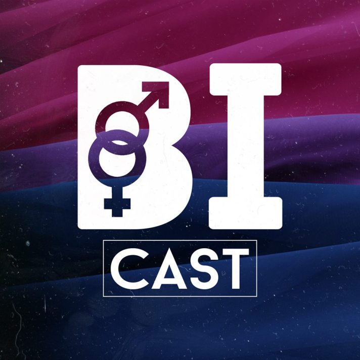 Bi Cast podcast cover art