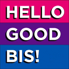 hello good bi's! podcast cover art