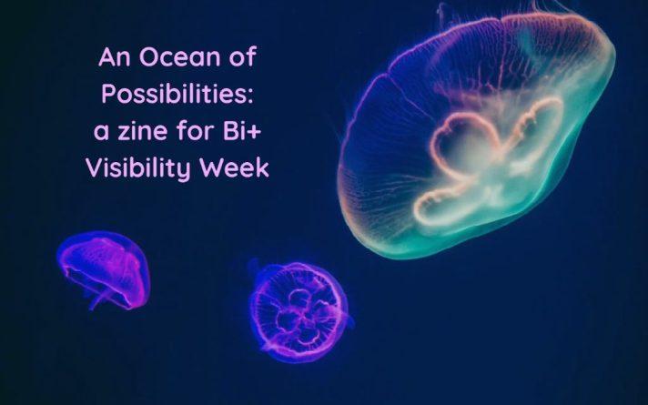 an ocean of possibilities zine art