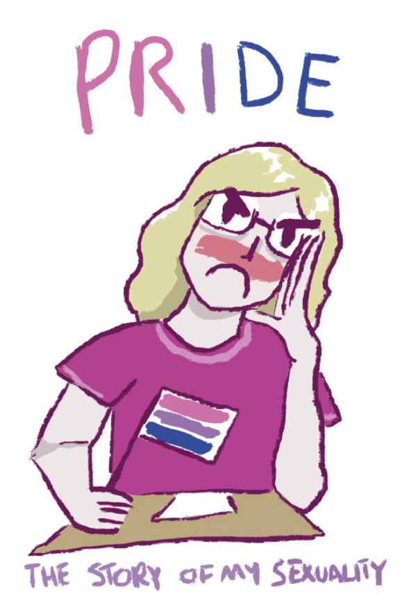 PRIDE the story of my sexuality zine art