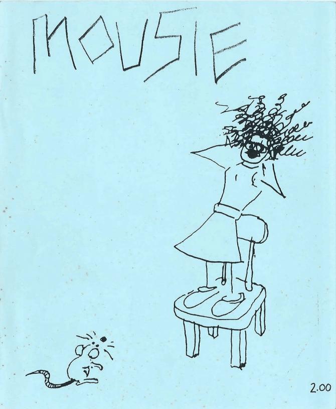 mousie #1 zine art